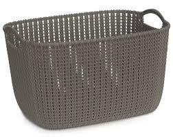 <b>Корзина Curver Knit</b> L, темно-коричневая - <b>купить</b> по цене 0 руб. в ...