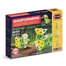 Купить <b>магнитный конструктор Magformers</b> 702009 <b>My</b> First Forest ...