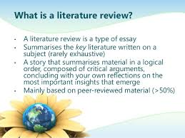 Everyone Can Do Research    steps to write Literature Review Using     sample literature review examples research paper writing