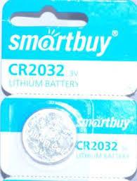 <b>Батарейки Smartbuy CR2032</b> в блистере 5 штук купить недорого ...