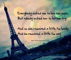My Quotes# 12: Lonely love and shy - Seekerohan- RohanRathore.com