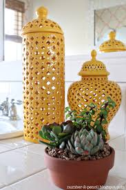 deals orange bathroom accessories: i also bought a few inexpensive succulents to bring some life into the space they remind me of the central coast and the bathroom was taking on a fresh