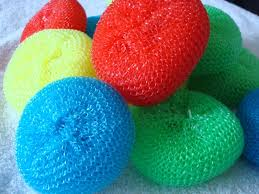 Image result for scrubber for dishes