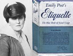 Image result for emily post images