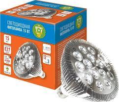 "<b>Фитолампа светодиодная</b> ""Garden Show"", 15 Вт, 15 <b>LED</b> (12 ..."