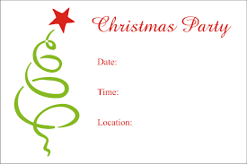 christmas party invitation template com