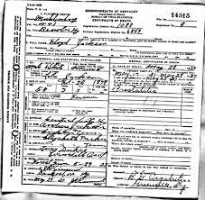 death certificates j jackson floyd