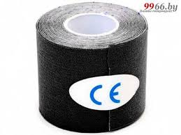 <b>Кинезио лента Bradex Physio</b> Tape 5cm x 5m Black SF 0190, цена ...