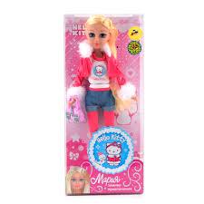 "<b>Кукла Мария</b> ""Зимние приключения"" - <b>Hello Kitty</b>, 29 см, Карапуз ..."
