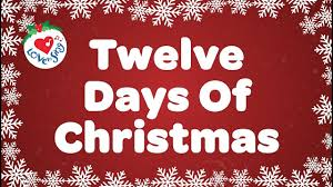 Twelve Days of Christmas with Lyrics Christmas Carol & Song ...