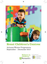 <b>Autumn winter children</b> centre brochure september to december <b>2017</b>