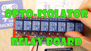 Groovy <b>8 Way</b> Opto Isolated <b>Relay</b> Board - YouTube