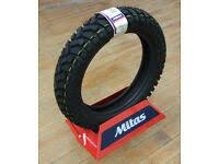 DAKAR Dual Sport PAIR Motorcycle Tires <b>110/80</b>-19 150/70-17 ...