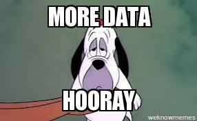 Droopy Dog Data - WeKnowMemes Generator via Relatably.com
