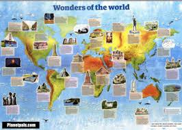 wonders of the world natural wonders man made wonders ancient  wonders of the world free chart