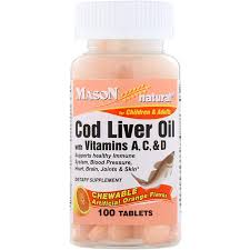 Mason Natural <b>Chewable Cod Liver Oil</b> wit- Buy Online in Bahamas ...