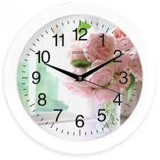 <b>Часы настенные Energy</b> ЕС-96 цветы купить в интернет ...
