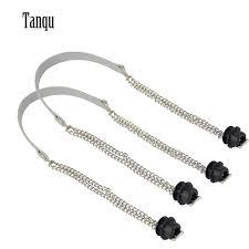 <b>Tanqu</b> New <b>1 Pair</b> Obag Silver Long Double Chain OT T OBag ...