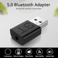<b>Leehur USB Bluetooth</b> 5.0 Adapter Transmitter Receiver RCA USB ...