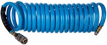 <b>Шланг спиральный</b> с фитингами рапид (5 м; 8x12 мм) <b>FUBAG</b> ...