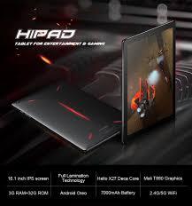 """<b>CHUWI Hipad</b> 10.1"""" Tablet PC MTK6797 X27 Deca Core 3GB RAM ..."""