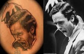 tattoos of serial killers pix i am bored ted bundy
