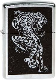 <b>Бензиновая зажигалка</b> Zippo Z_207-tigre — купить в интернет ...