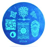 Discount <b>Nail Art Stamping</b> Lace Plate