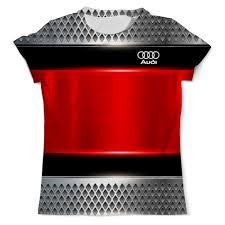 """Футболка с полной запечаткой (мужская) """"Авто <b>Audi</b>"""" #2514569 ..."""