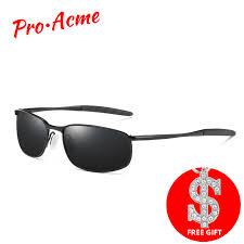 <b>Pro Acme Brand</b> Sunglasses <b>Men</b> Polarized Rectangle Coating ...