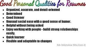 digital and interactive media job portal find jobs in digital    personal qualities for resumes