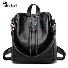 <b>Genuine</b> Leather Backpack Handbags For <b>Women</b> | Ahoy Comics