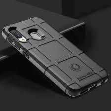 For Samsung Galaxy A20E Case <b>Soft Silicone rugged shield</b> ...