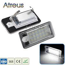 Online Shop Atreus Car-styling <b>2Pcs LED Number License</b> Plate ...