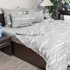 <b>Комплект постельного белья</b> «Письма» <b>полутораспальный</b>, бязь ...