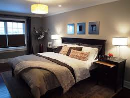 Master Bedroom Paint Colors Grey Bed Wall Purple Table Lamp Antique Floral Art Painting  T