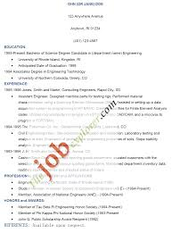 resume sample letters application template examples of resume for job application