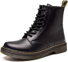Resonda <b>Women</b> Fashion <b>Leather</b> Ankle Bootie <b>Casual</b> lace up