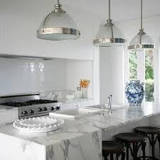 calacatta marble kitchen waterfall: burley katon halliday kitchens beautiful kitchens beadboard kitchen hood beadboard trim hood