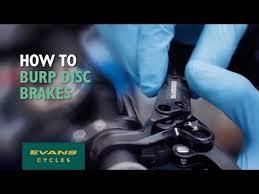 How to burp disc <b>brakes</b> - YouTube
