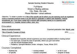 nursing student resumenursing student resume