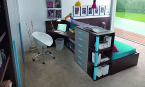 teenage room furniture. blue gray kids room interior contemporary teen teenage furniture d
