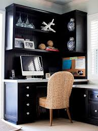 pin it corner home office bhg alcove office