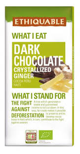 <b>Dark</b> chocolate <b>crystallized ginger</b> | Fair Trade - Ethiquable ...