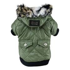 Winter Pet Dog Clothes Super Warm Soft Fur Hood Jacket ... - Vova