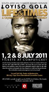 WIN TICKETS TO SEE LOYISO GOLA in CAPE TOWN - 2998Podium_LoyisoGola_Poster_2011_Mailer_vs2