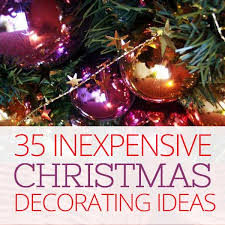 cheap christmas decor:  inexpensive christmas decorating ideas on a budget ohladee odjkas
