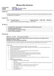 senior document controller