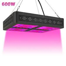 <b>600W Led</b> Grow Light Full Spectrum Lamp Panel Plant Lights ...