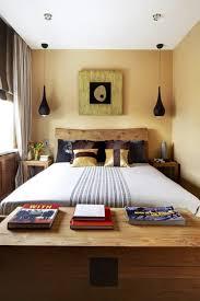 bedroom decor ideas for small spaces using clear glass flower vases aboard solid oak bedside table bedroom lighting bedroom ceiling lights bedside